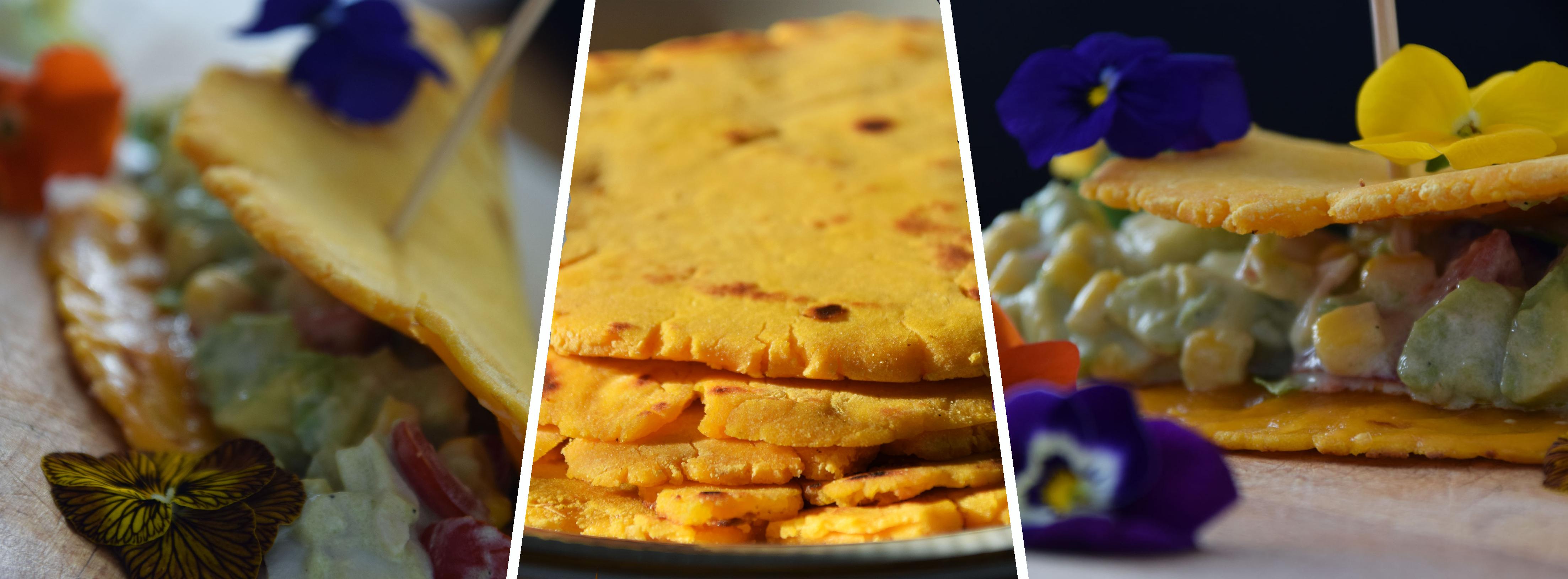 Batátové tortilly iba z 2 surovín